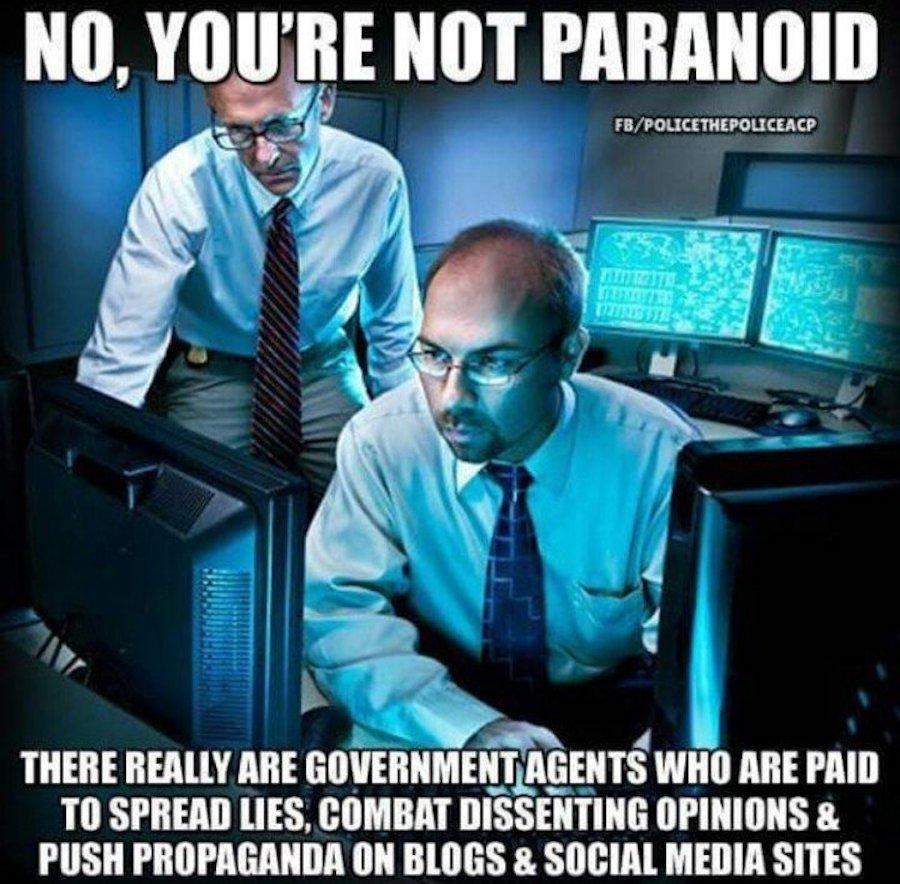 conspiracy paranoid