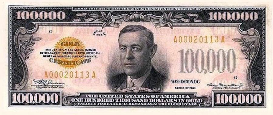 Woodrow.Wilson.Banknote