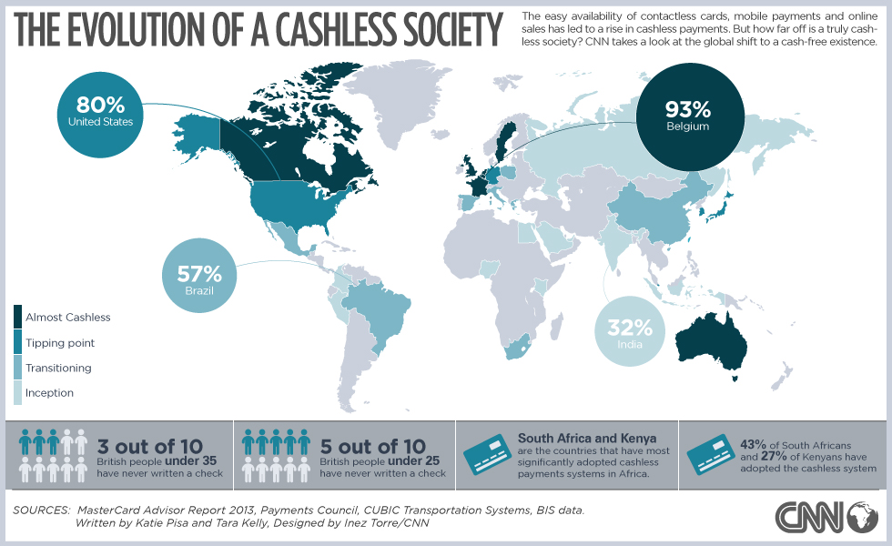 World.Map.Cashless.Society