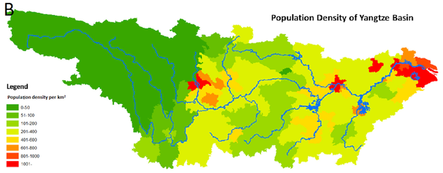 Yangtze.Population.Map
