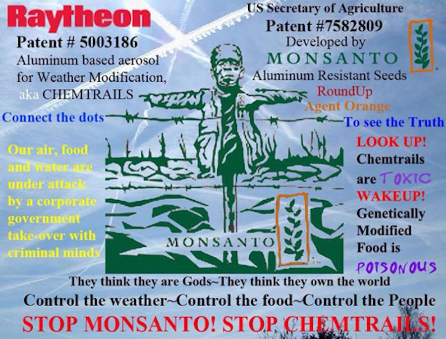 Chemtrails.Monsanto