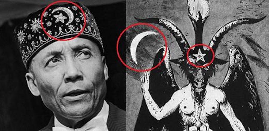 elijah.mohamed.satanism