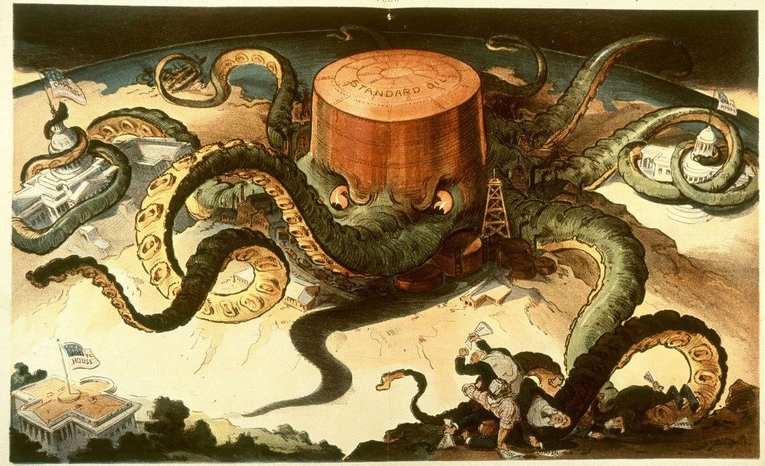 octopus political cartoon
