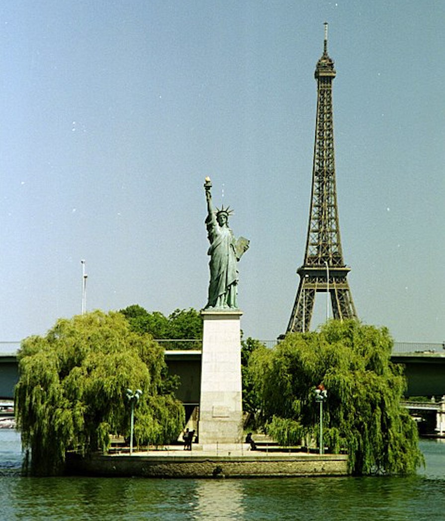 Paris Statue of Liberty