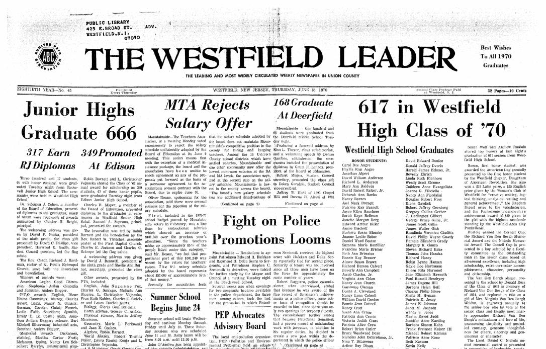 westfield leader