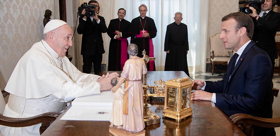 pope macron