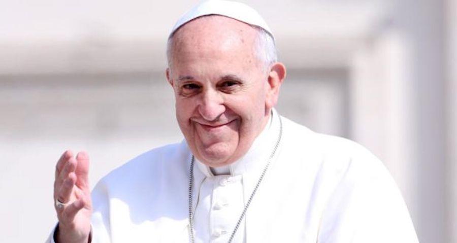 pope smile