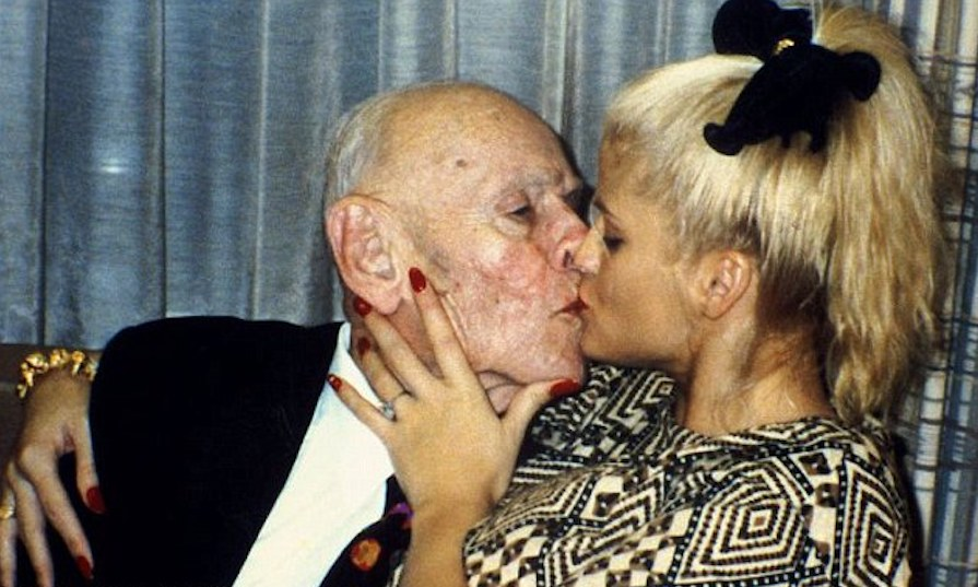 Anna Nicole Smith With Husband
