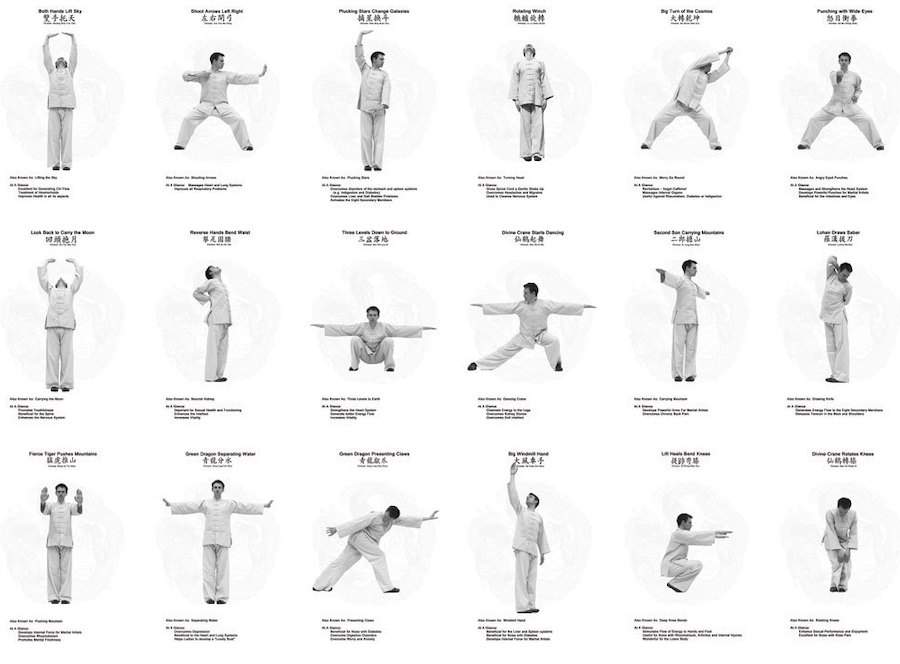 qigong positions