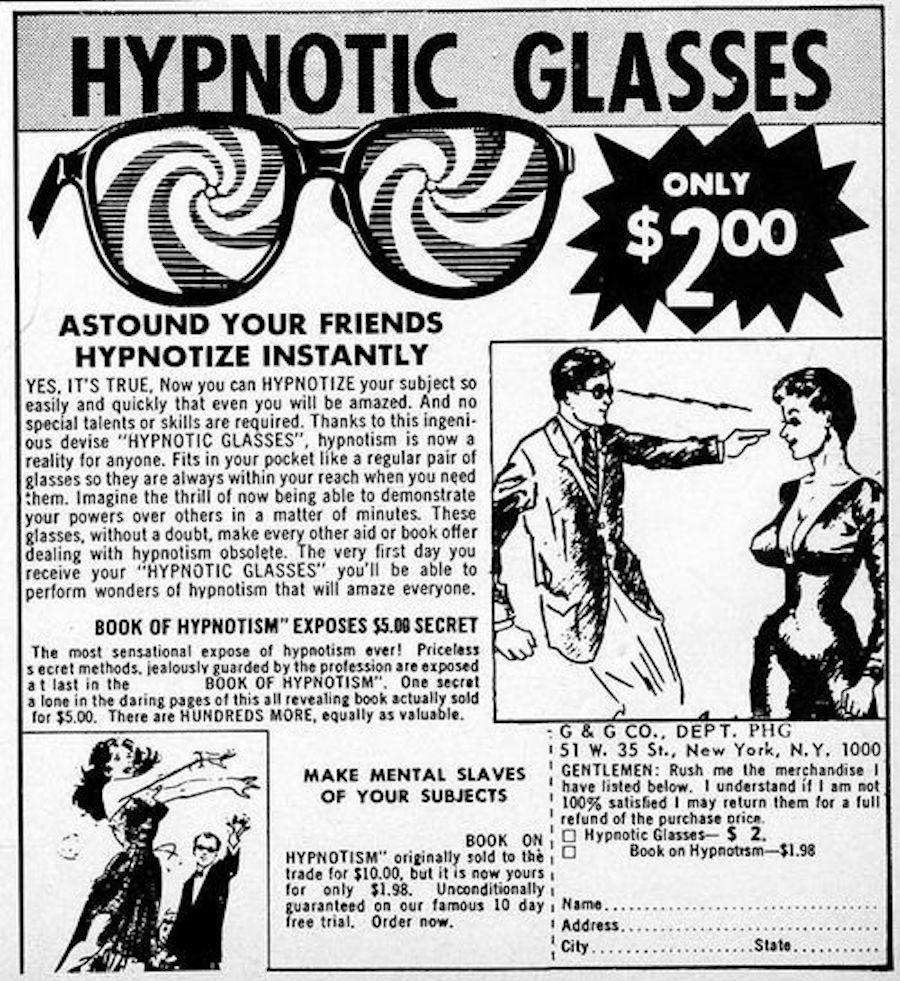 comic hypnosis ad 2