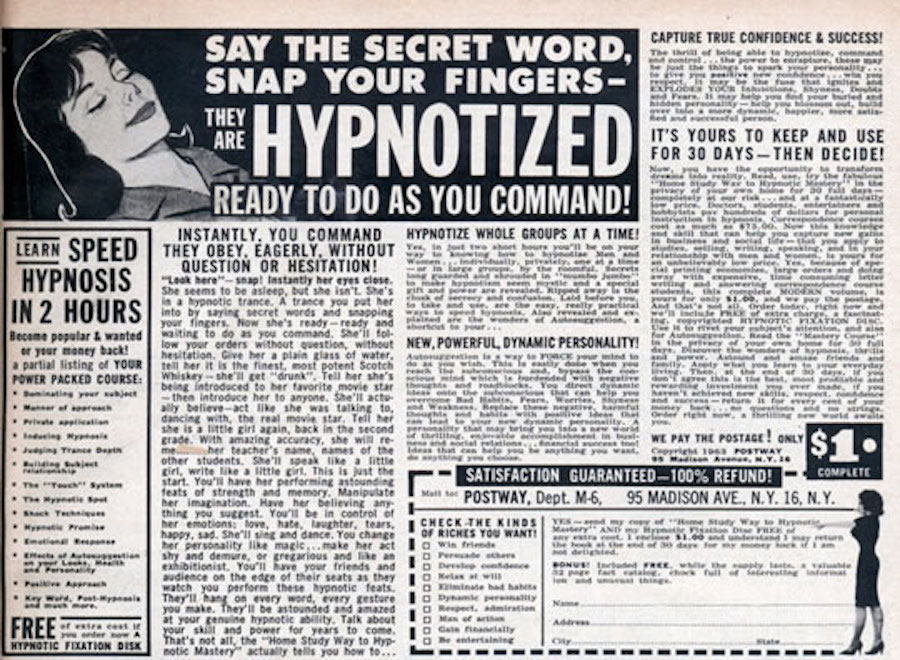 comic hypnosis ad 5