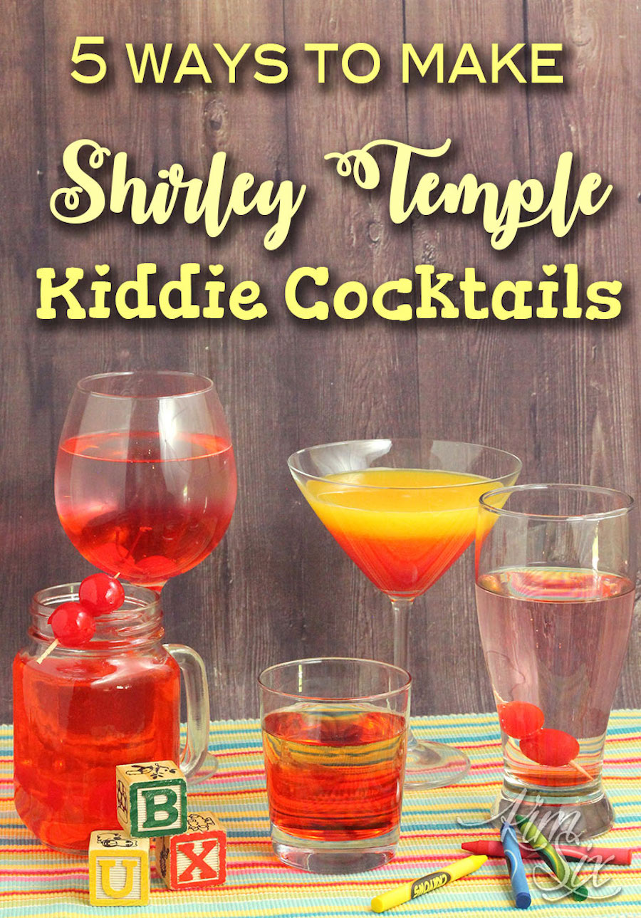 Shirley Temple Cocktails