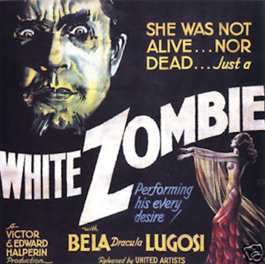 white zombie poster 2