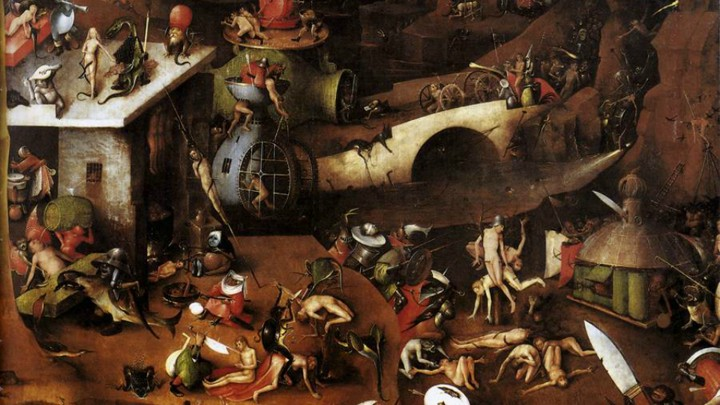 bosch vision of hell