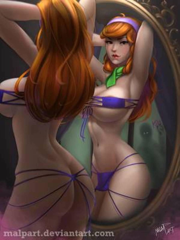 Daphne Sexy Comic