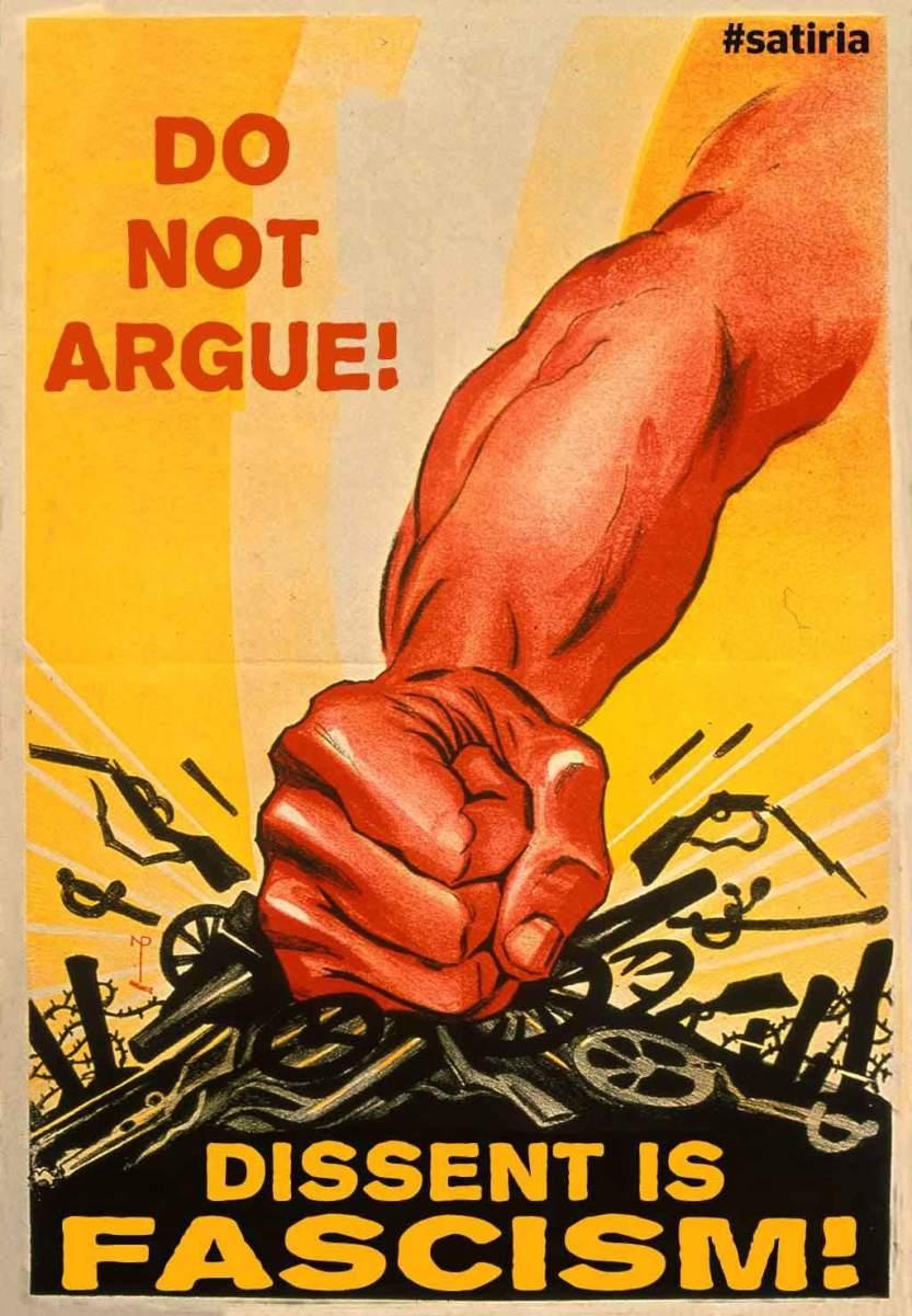 dissent is fascism