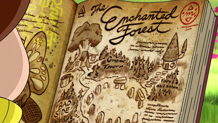 enchanted forest gravity falls 2