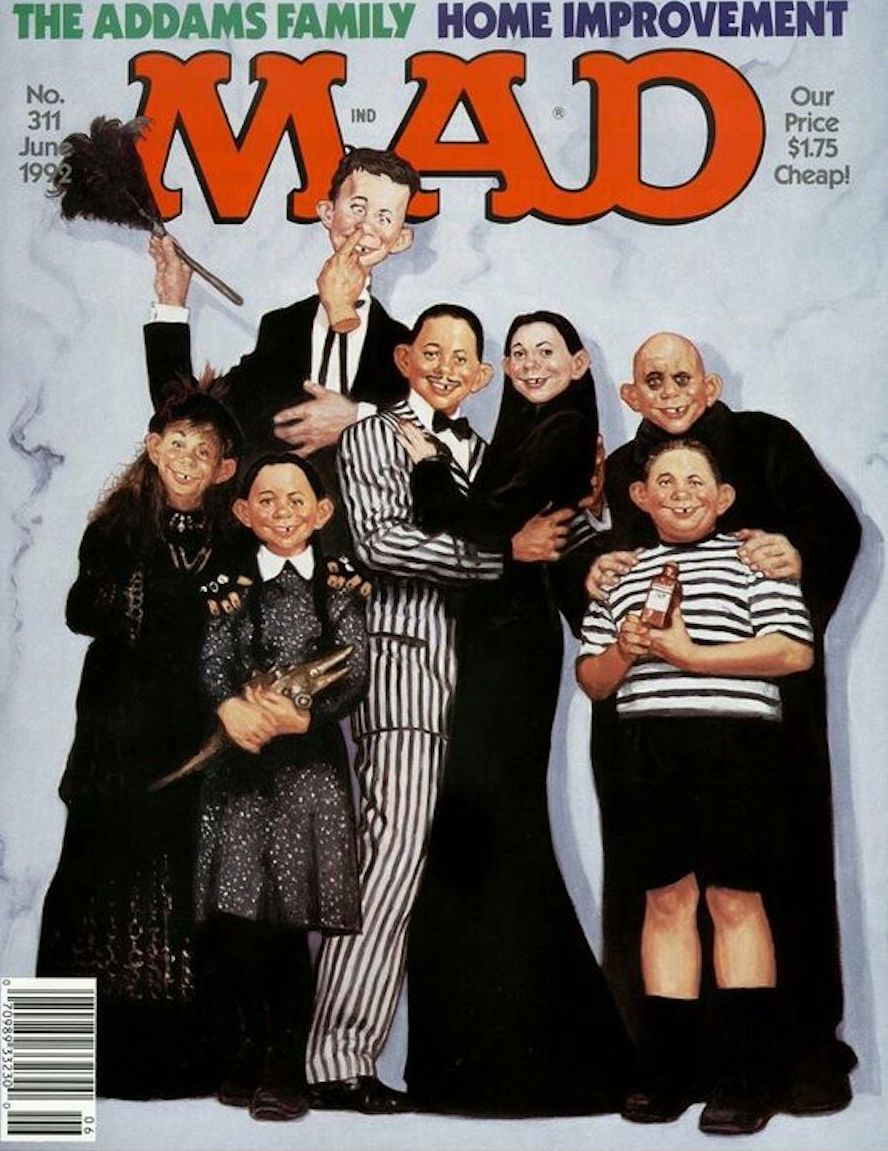 mad magazine addams family