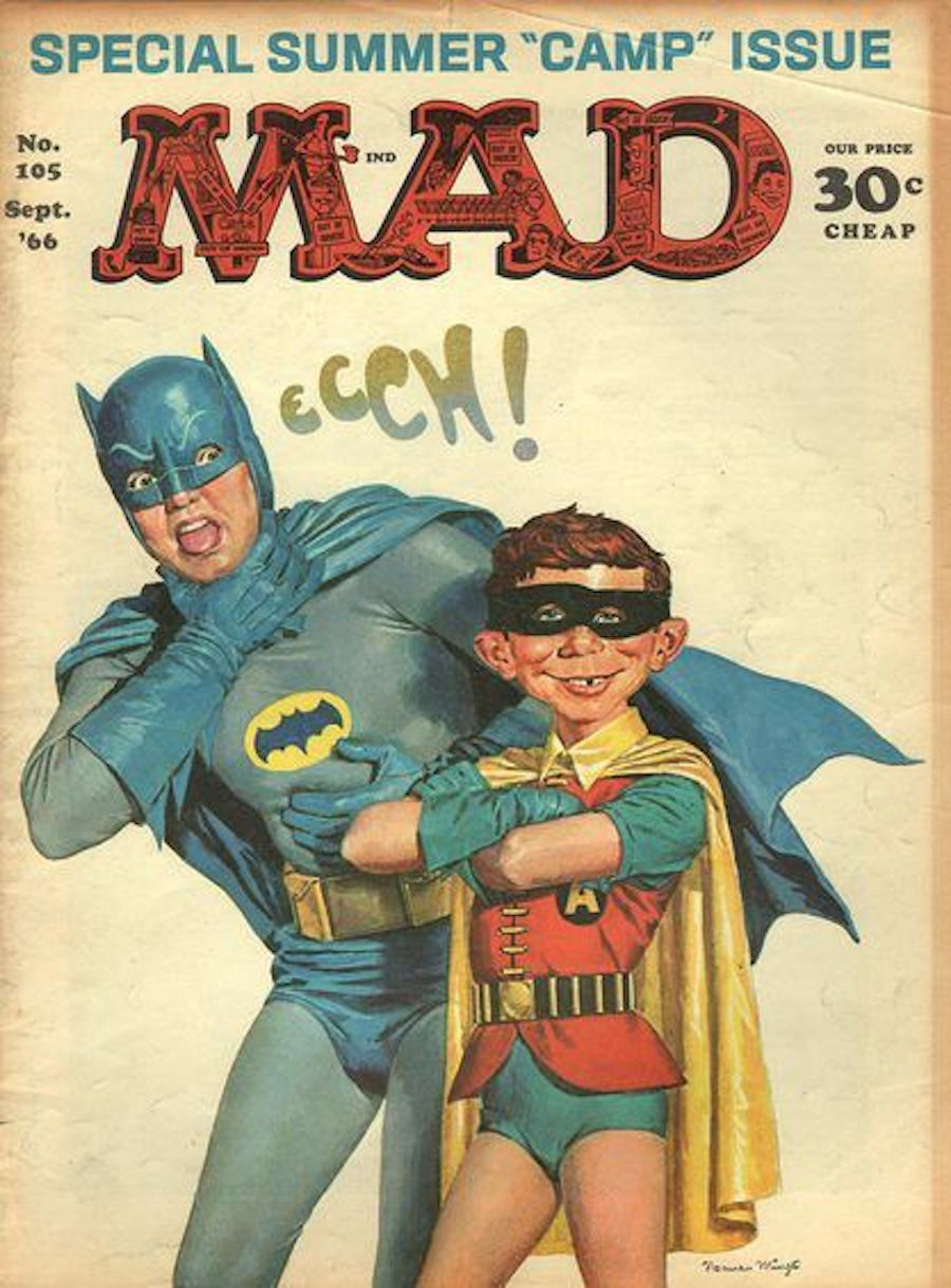 mad magazine batman
