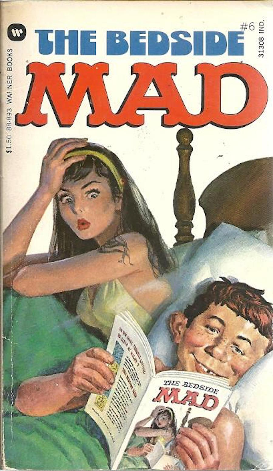 mad magazine bedside mad