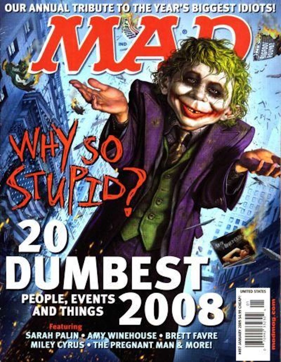 mad magazine joker