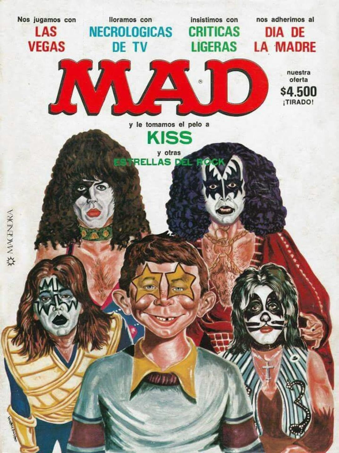 mad magazine kiss