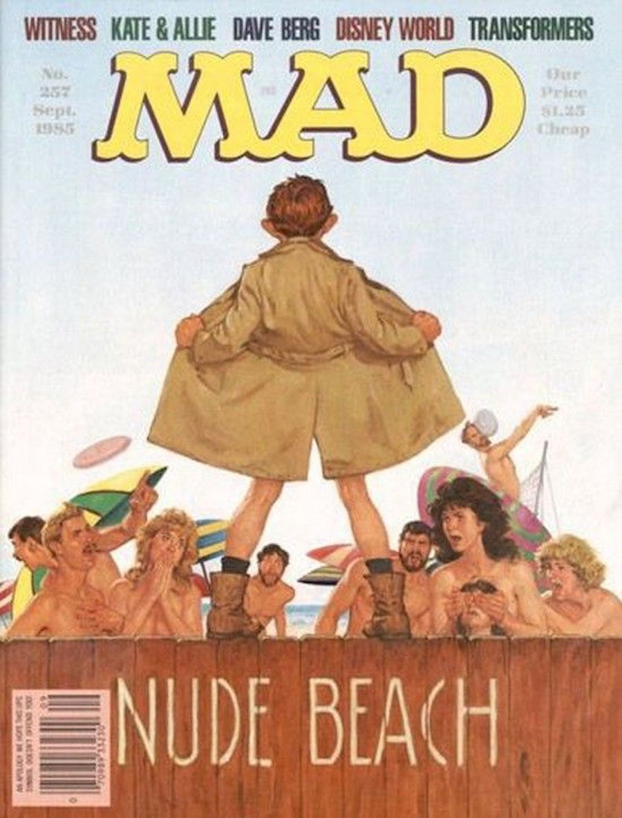 mad magazine nude beach 1