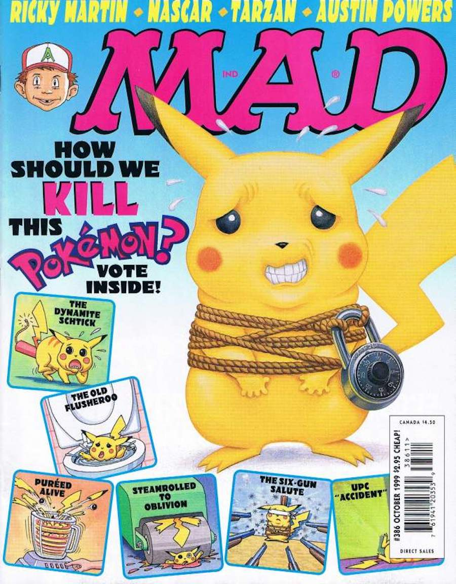 mad magazine pokemon