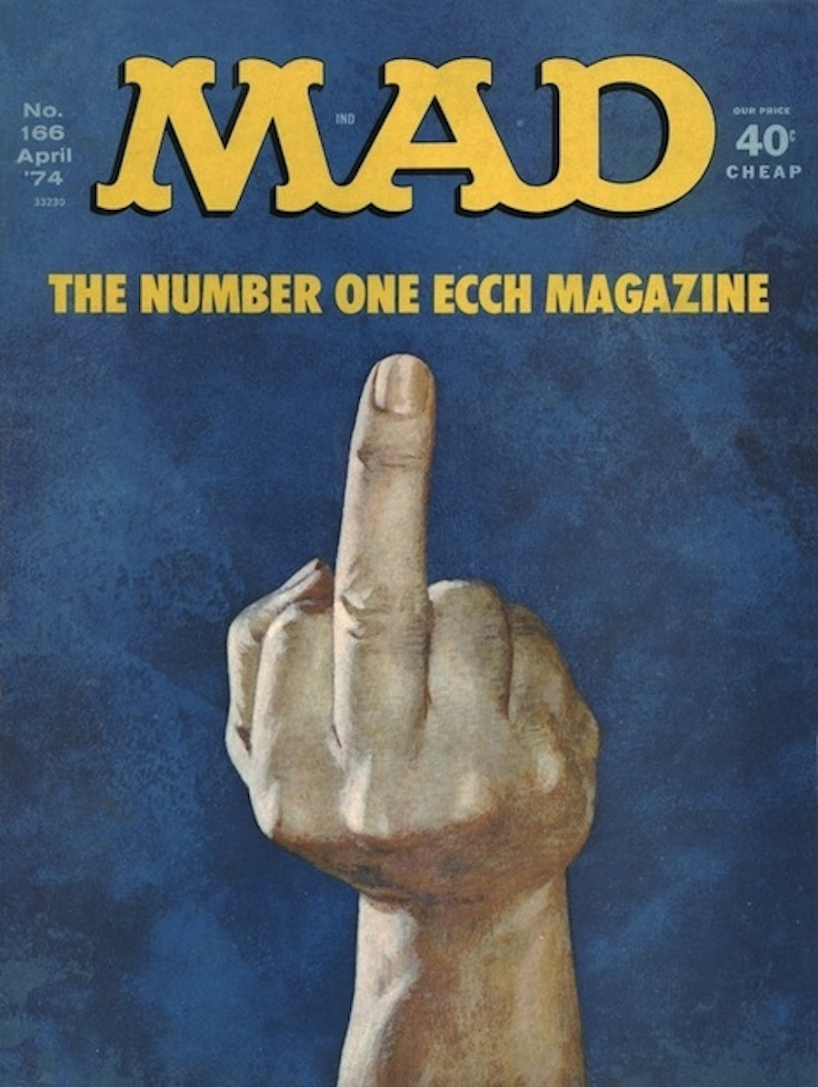 mad middle finger