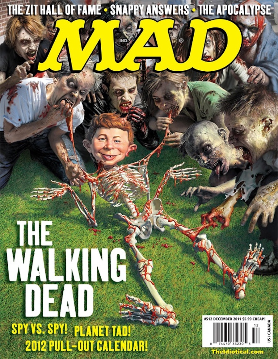 mad walking dead