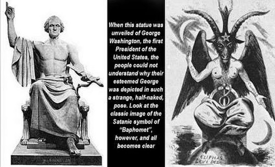 washington baphomet
