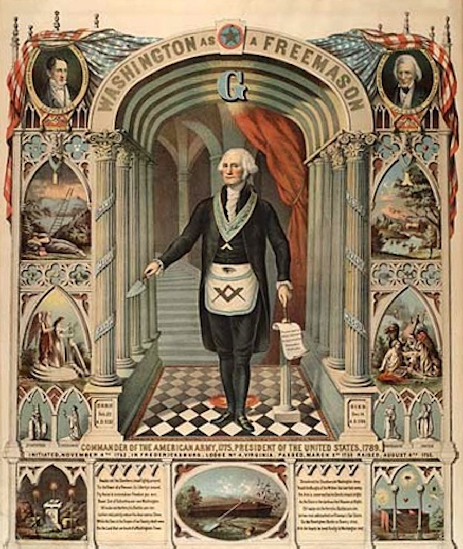 washington freemason