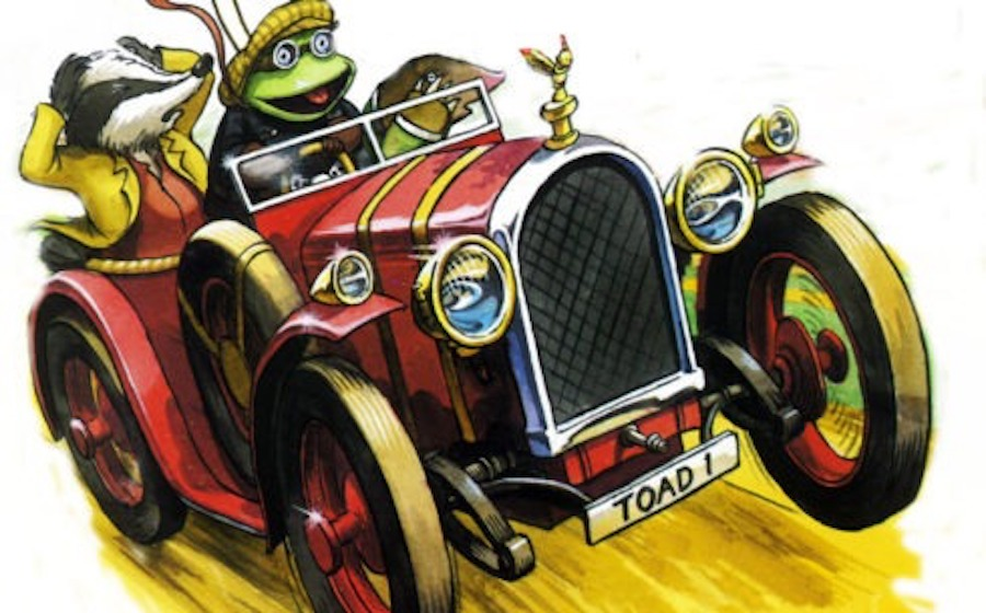 wind in the willows toad motorcar 2