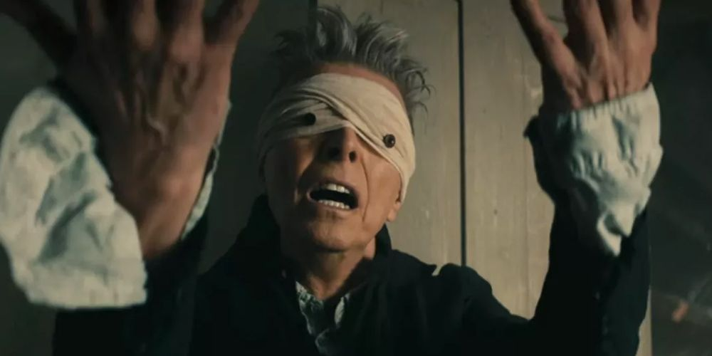 David Bowie Blackstar Bandages on Eyes