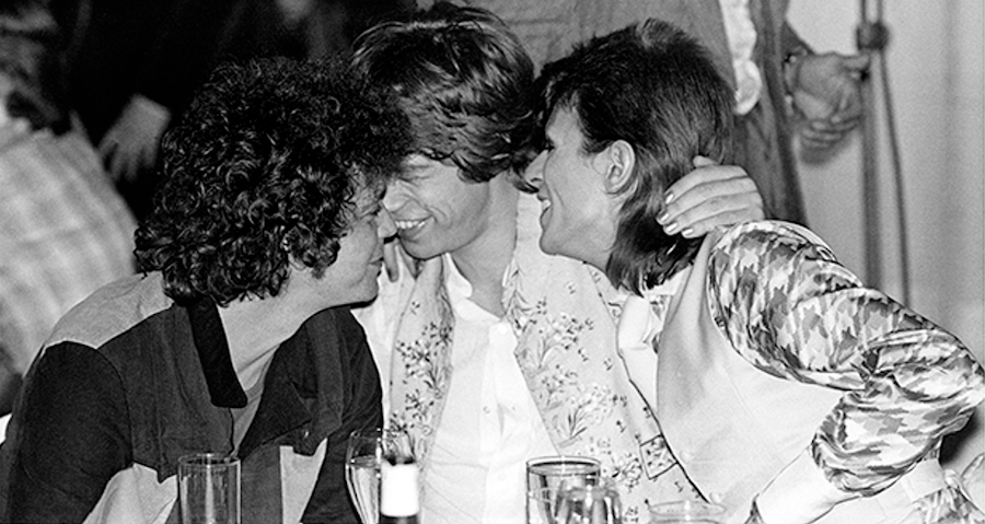 david bowie mick jagger lou reed