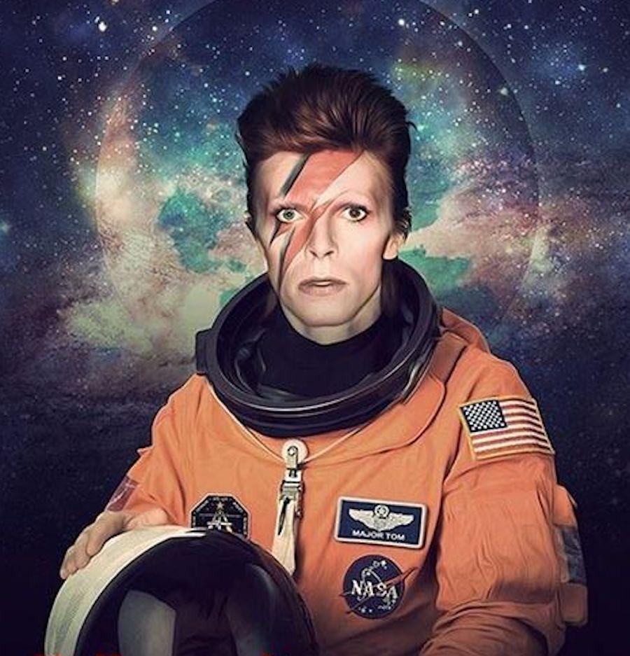 david bowie spacesuit star man