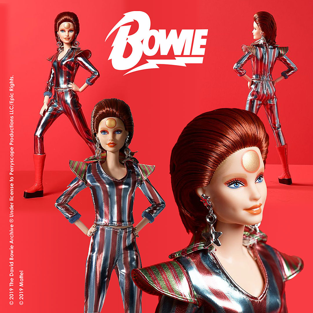 david bowie ziggie stardust barbie