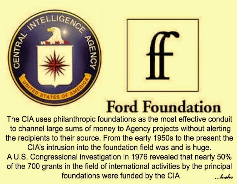 ford foundation cia