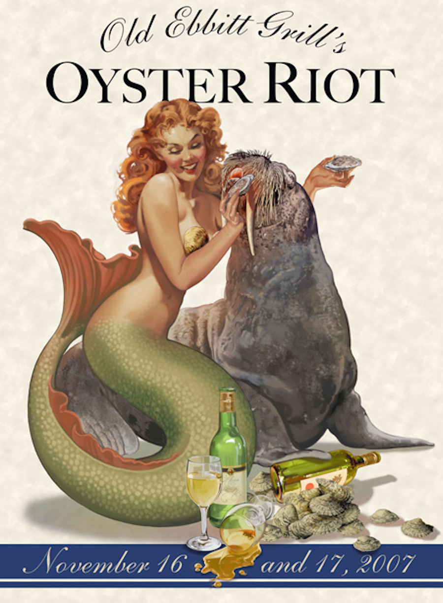 oyster riot then