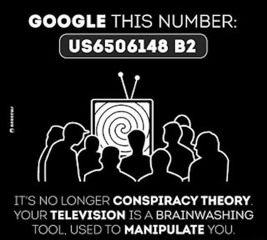 tv mind control patent