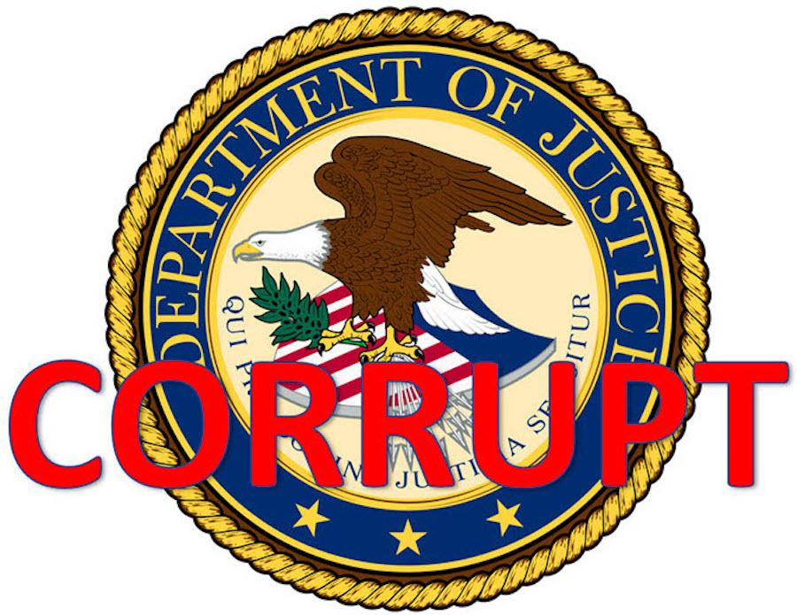 doj corrupt