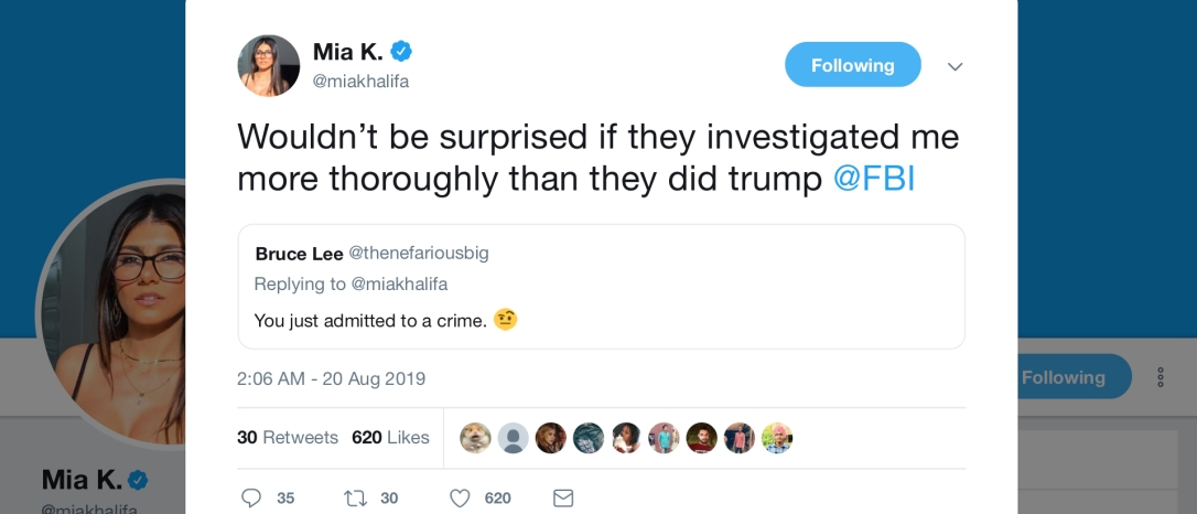 Mia K. - Trump