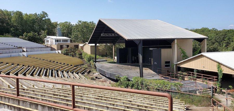 swiss villa amphitheater