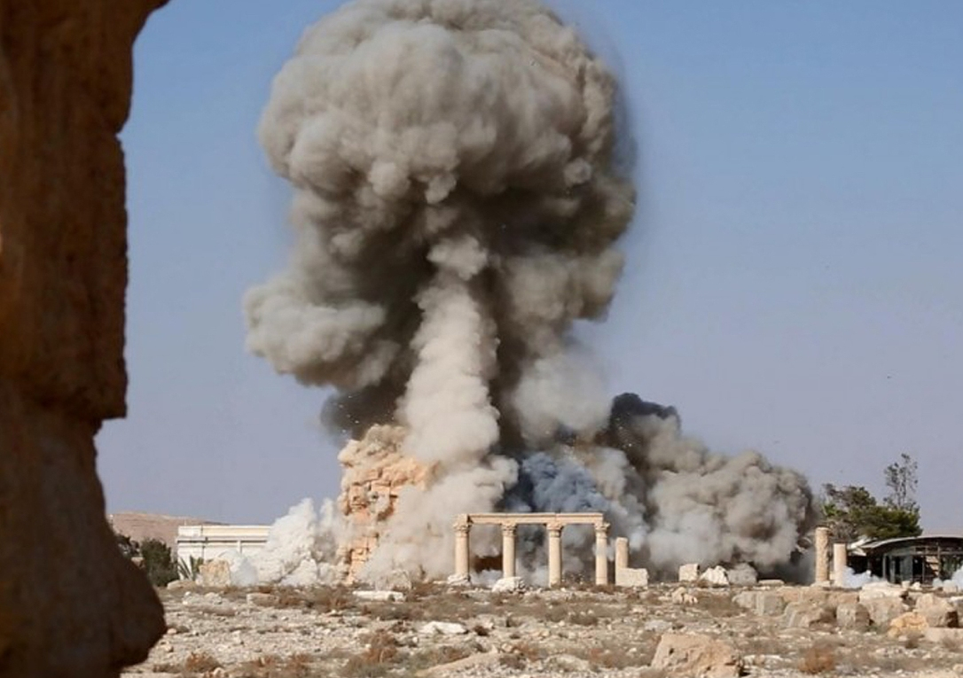Baal Shemin Temple Blown Up