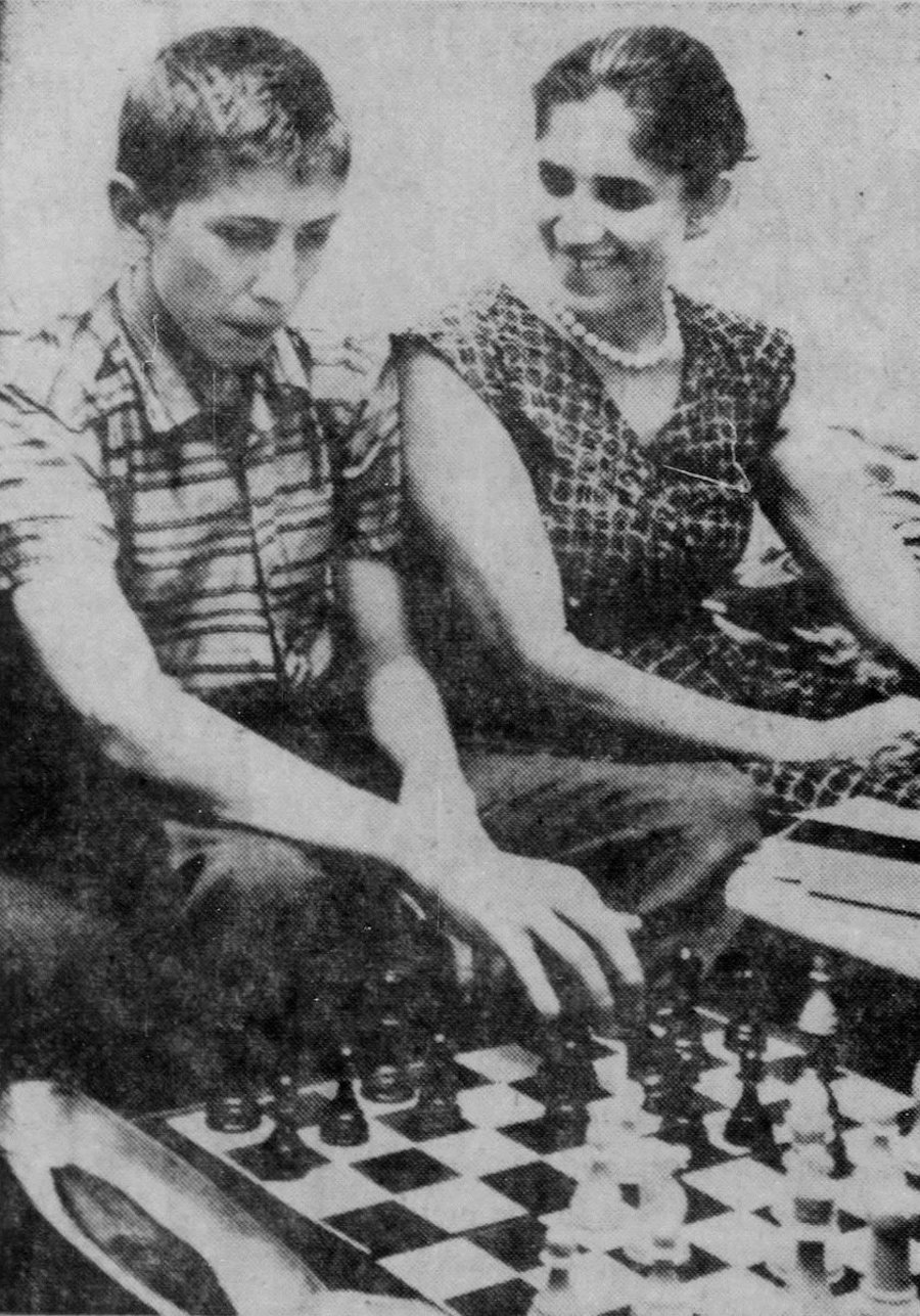 Bobby Fischer & His Mom 2