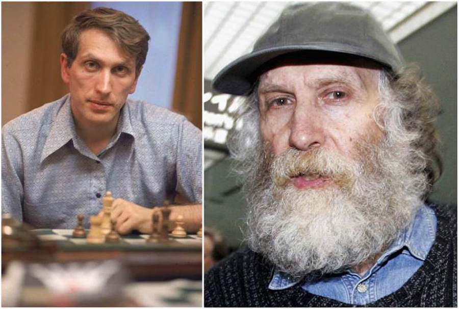 bobby fischer - young and old