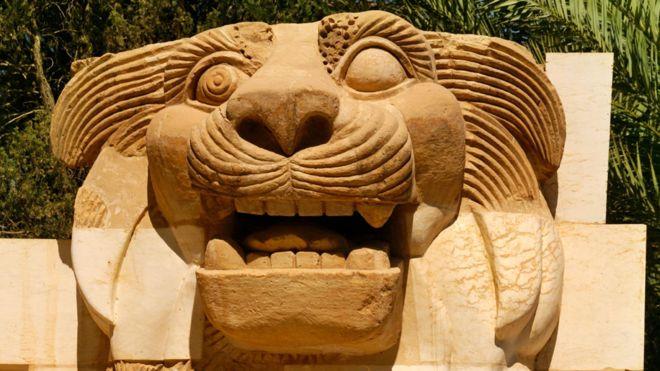 Palmyra - Lion of al-Lat