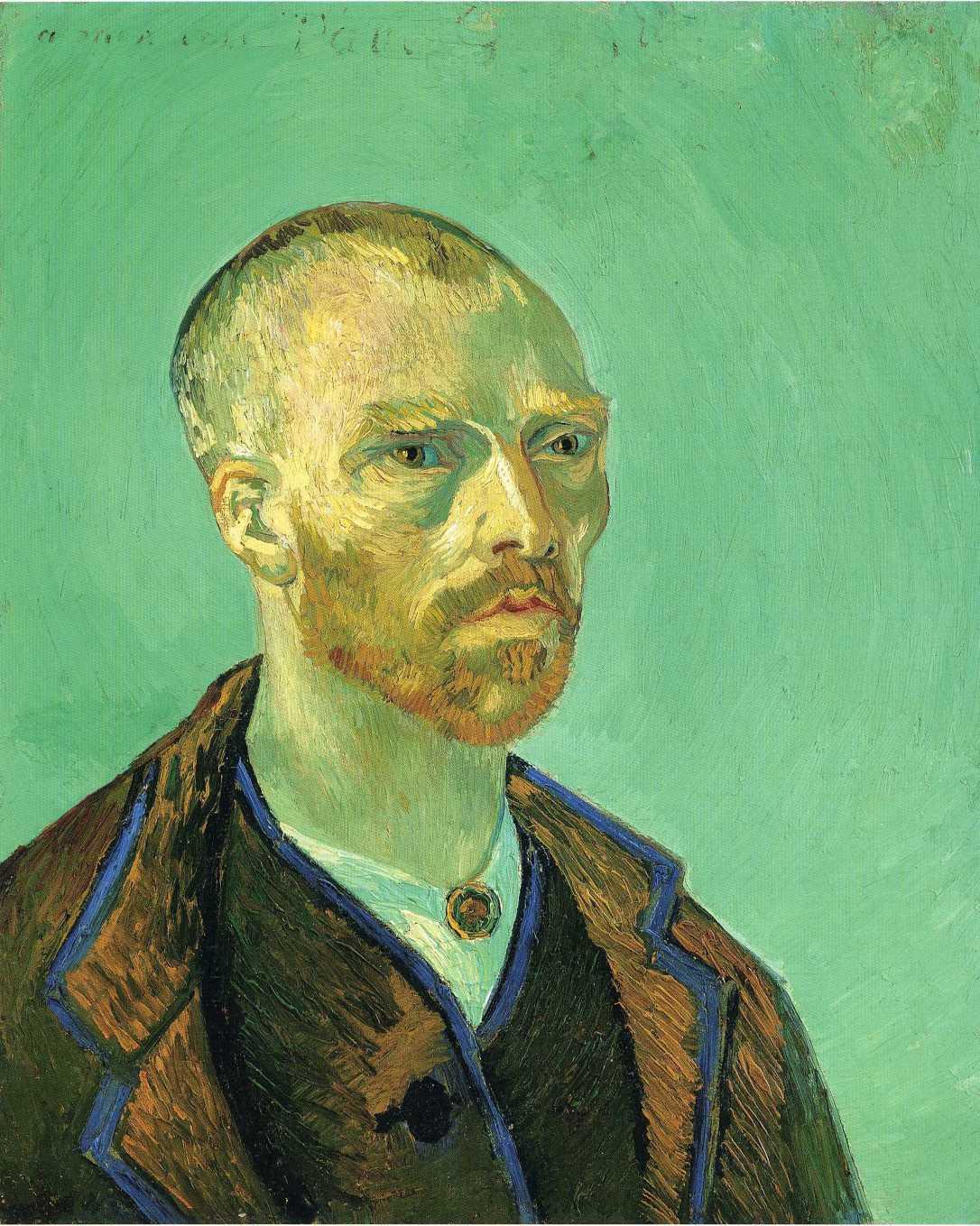 Van Gogh Self Portrait to Gauguin