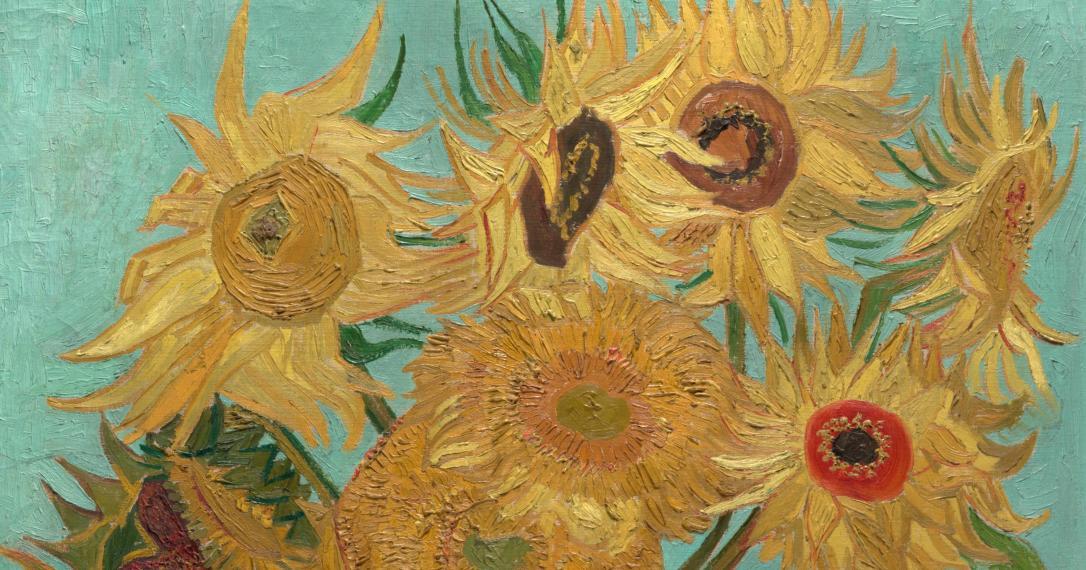 Van Gogh Sunflowers 3