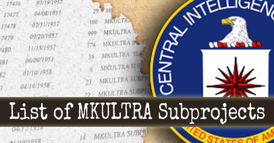 mkultra list